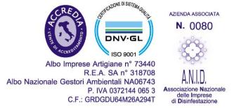 Certificazioni dell'azienda-La Soledad-Angri