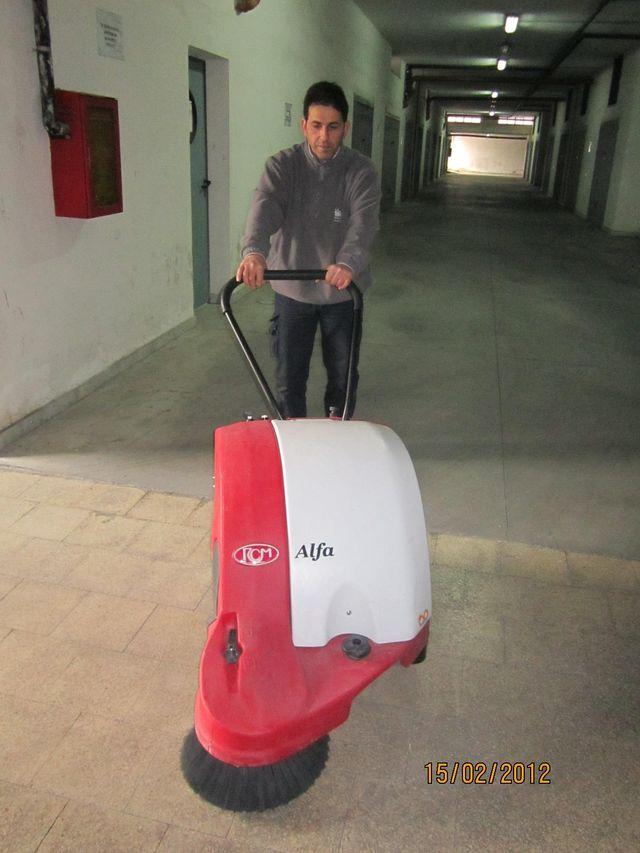 operazioni di pulizia ad Angri-La Soledad