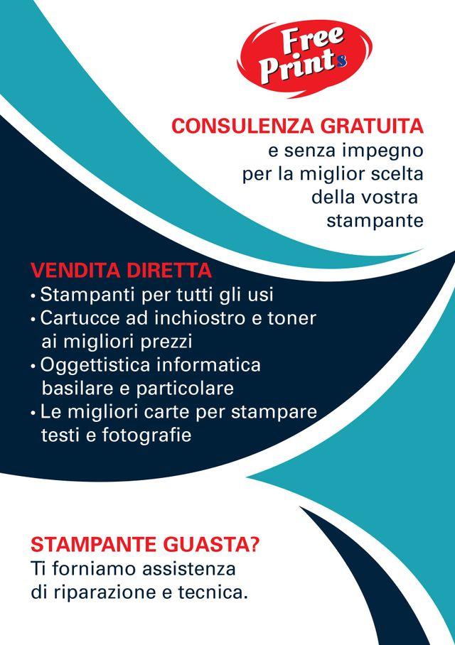 Free Prints volantino consulenza gratuita