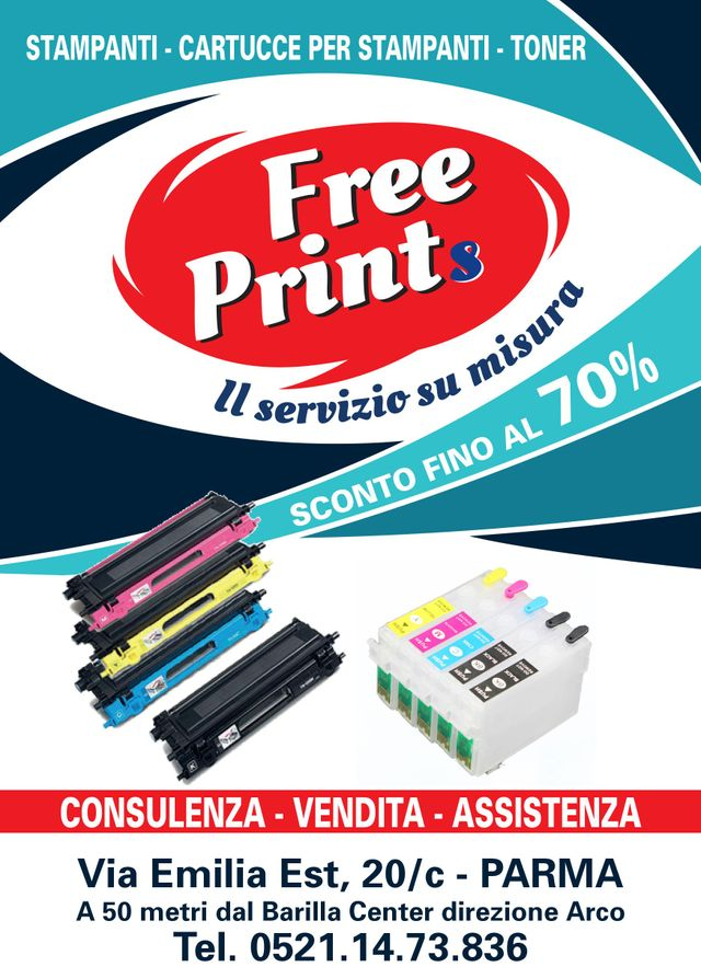 Free Prints volantino sconto 70%