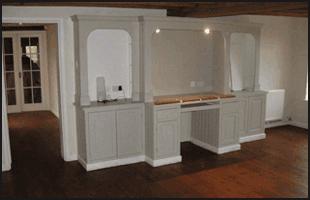 Wooden flooring in home