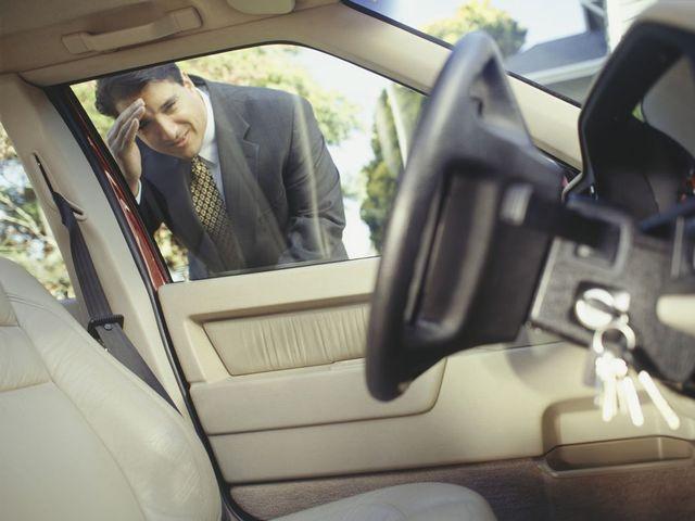 Man in Gold Coast needing locksmith for his key left inside his car