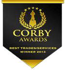 corby awards logo