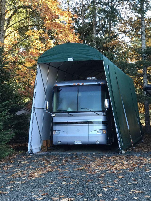 RV Garage Testimonials from Ken Sherburne - Parksville, BC (Oct 27, 2017)