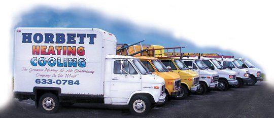 Horbett Heating Cooling Trucks