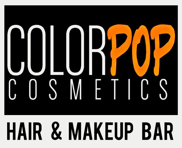 color pop cosmetics hair & make up bar
