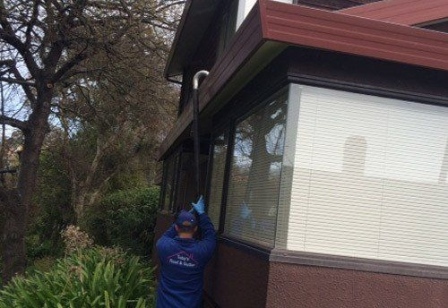Gutter vacuuming services in Hawkes Bay