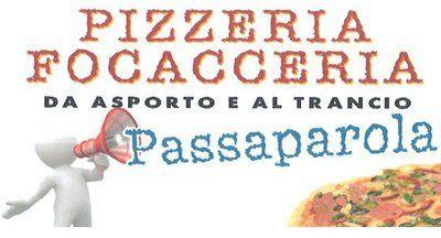 Passaparola Pizzeria E Focacceria - Logo