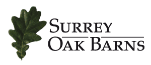 Surrey oak barns logo