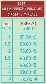listino prezzi noleggio barche