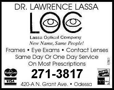 Eye Exam Odessa, TX