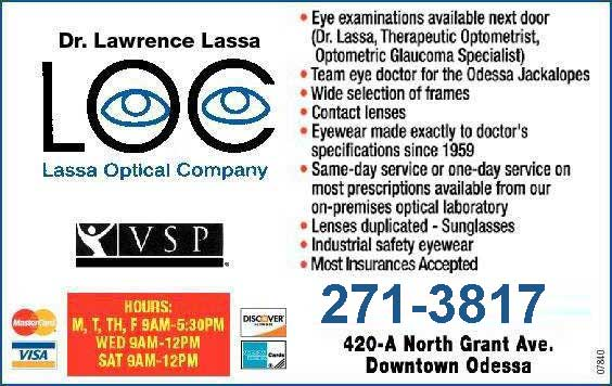 Contact Lenses Odessa, TX