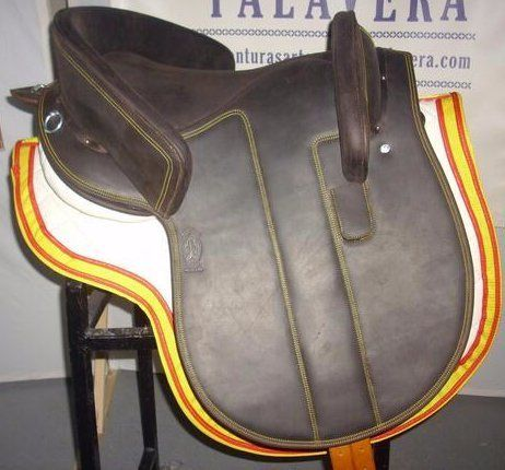 Iberian Connection | Alta Escuela Saddle Calf Leather
