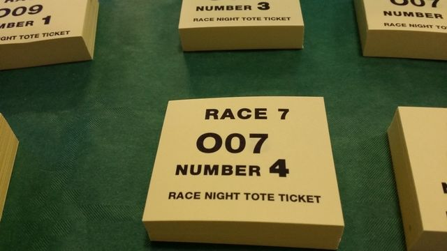 Race Night Tote Ticket