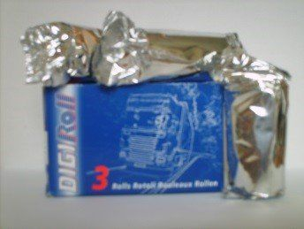 A pack of Digital Tachograph Rolls