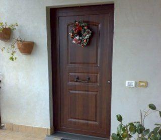 porte esterne, porte in legno, porte coibentate