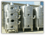 serbatoi in acciaio industria delle bevande