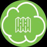 Nuvoletta verde col disegno di una copertura in amianto