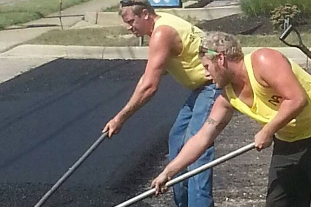 Aa Asphalting Inc : Paving company mansfield oh ambry asphalt inc