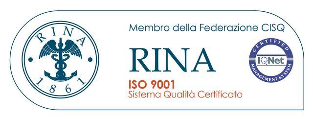 Attestato membro federazione CISQ - rina