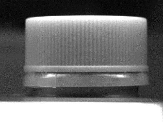 un contenitore in bianco e nero