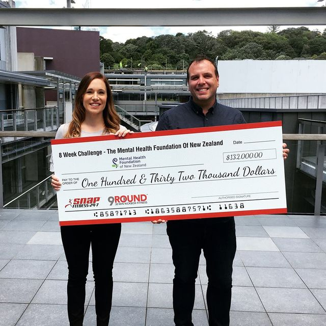$132,000 raised for the Mental Health Foundation of New