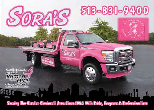 Sora's professional car repair and towing services in Cincinnati, OH