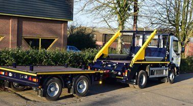 One of our skip lorries