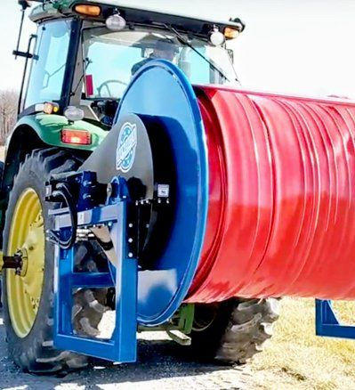 Bambauer Equipment | 3 Point Hitch Hose Reel