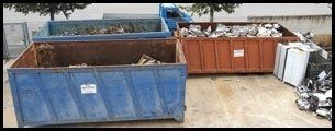 noleggio cassoni riciclaggio