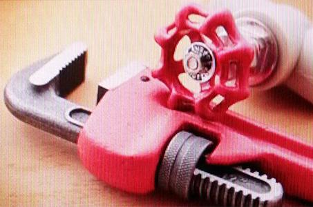 Tools used for doing plumbing repair