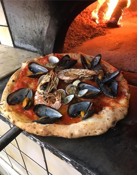 pizza con le cozze