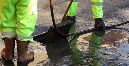 blocked drains clearance