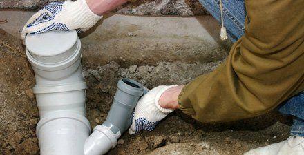 drainage pipe repairs
