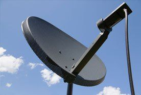 Satellite TV service