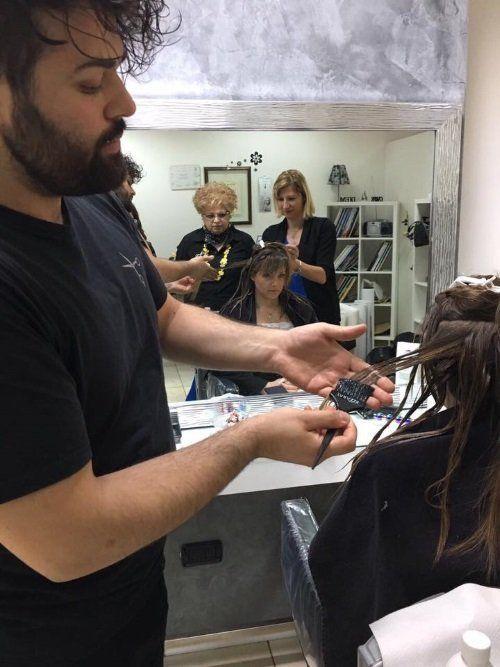 Tingendo i capelli