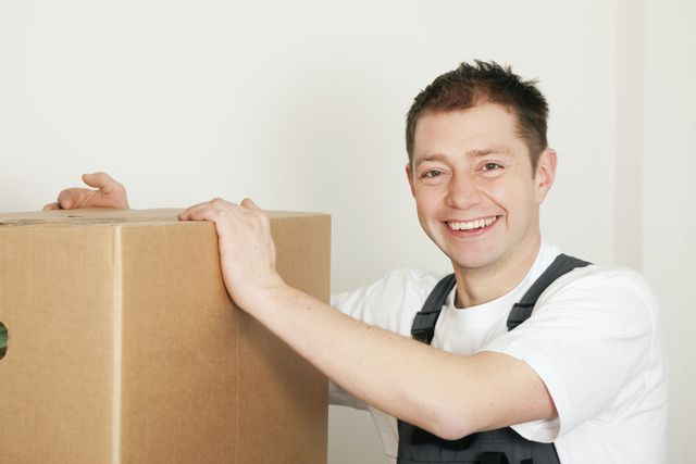 moving a box in Masterton