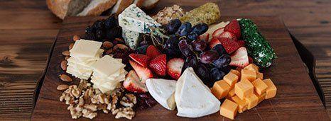 Deluxe Cheese & Fresh Fruit Platter