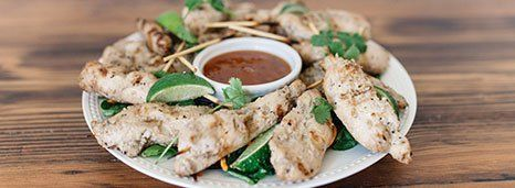 Lemongrass Chicken Satay