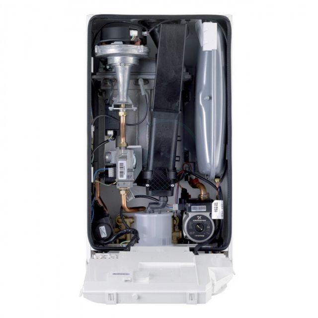 internal view of boiler