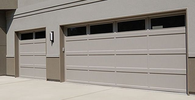 ... 24 And 25 Gauge Steel, Wood Grained Sections And Utilizes A Solid  Overlay Exterior. Each Door Is Fully Insulated With Vinyl Back Polystyrene  Insulation.