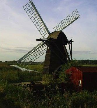 A large windmill