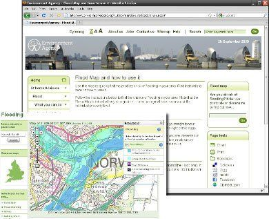 Flood risk maps
