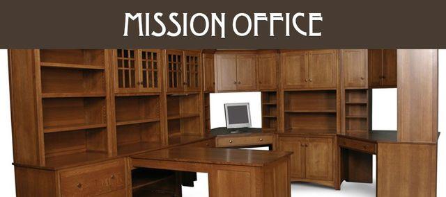 buy solid wood office furniture custom or in stock rh woodbinefurniture com mission furniture office desk mission style office furniture