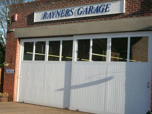 Rayners Garage Front