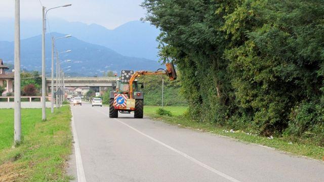 Manutenzione verde stradale