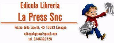 Edicola libreria la press logo
