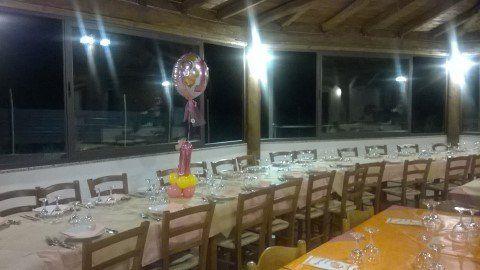 interno del ristorante  La Cartiera a  Fiumedinisi