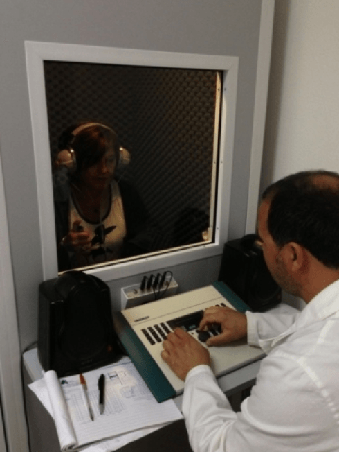 Macchinari per il test audiometrico