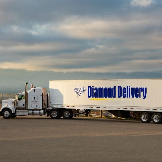 diamond delivery semi truck